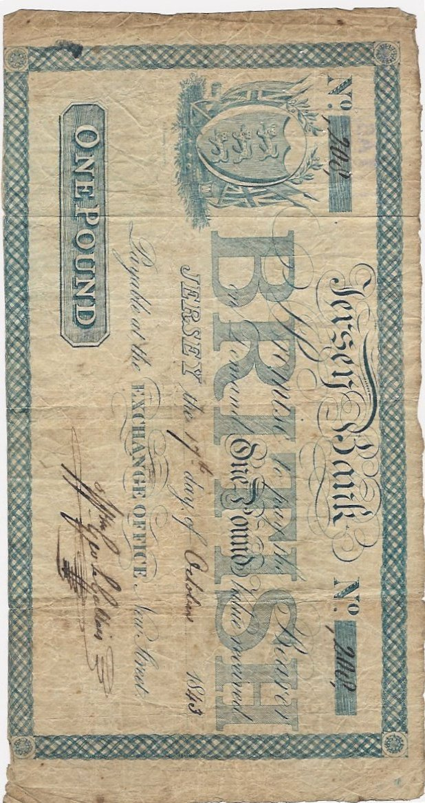 JerseyBank_1843 banknote