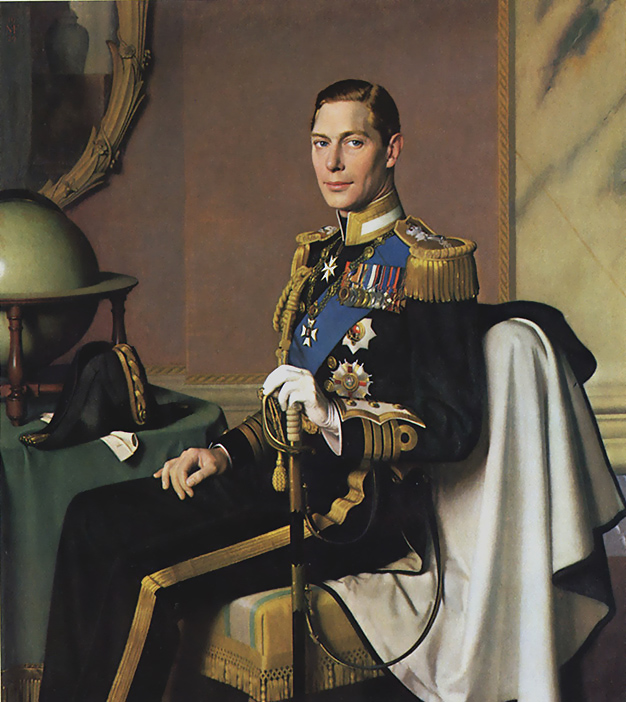 King George VI Photograph