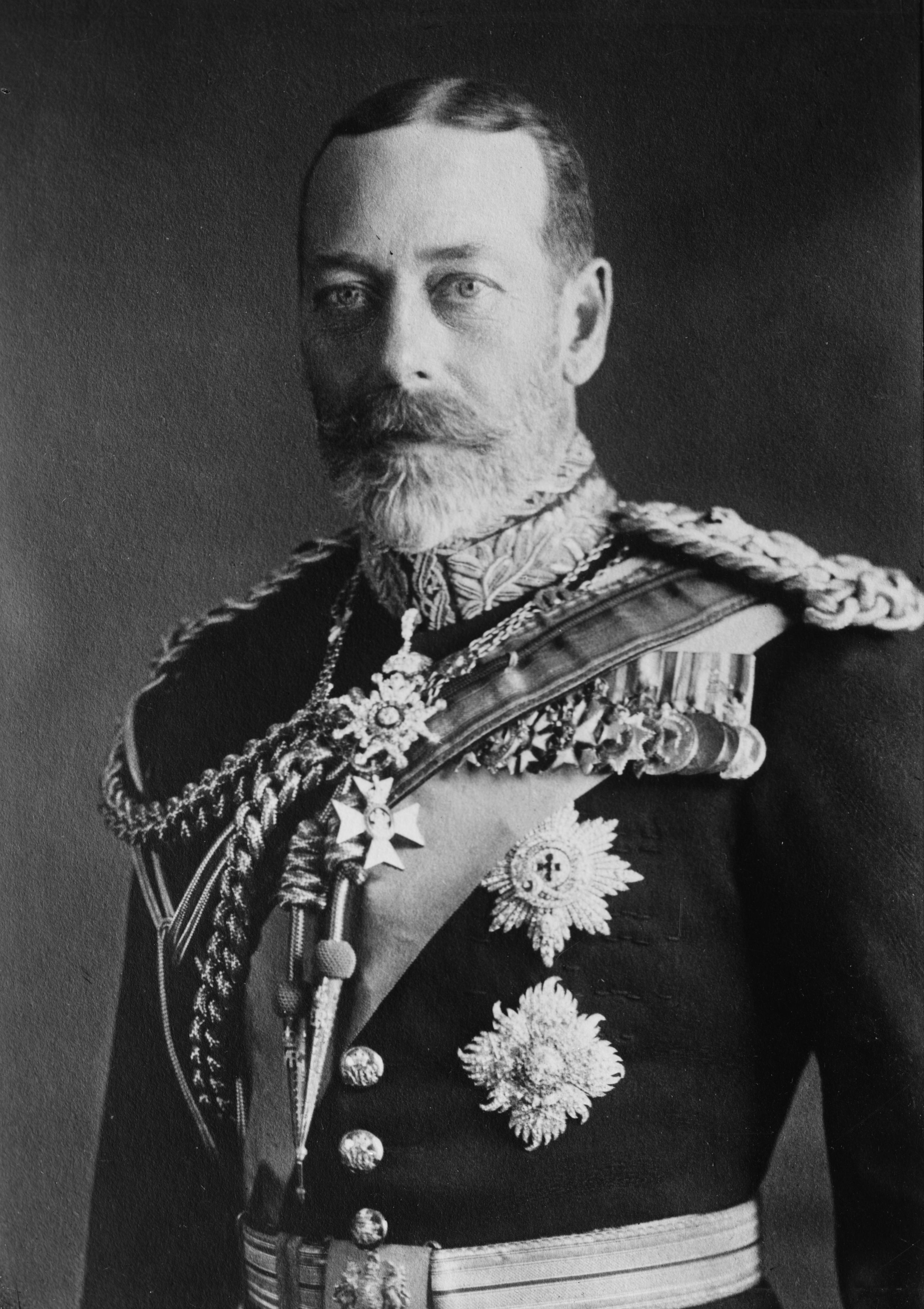 King George V Painting