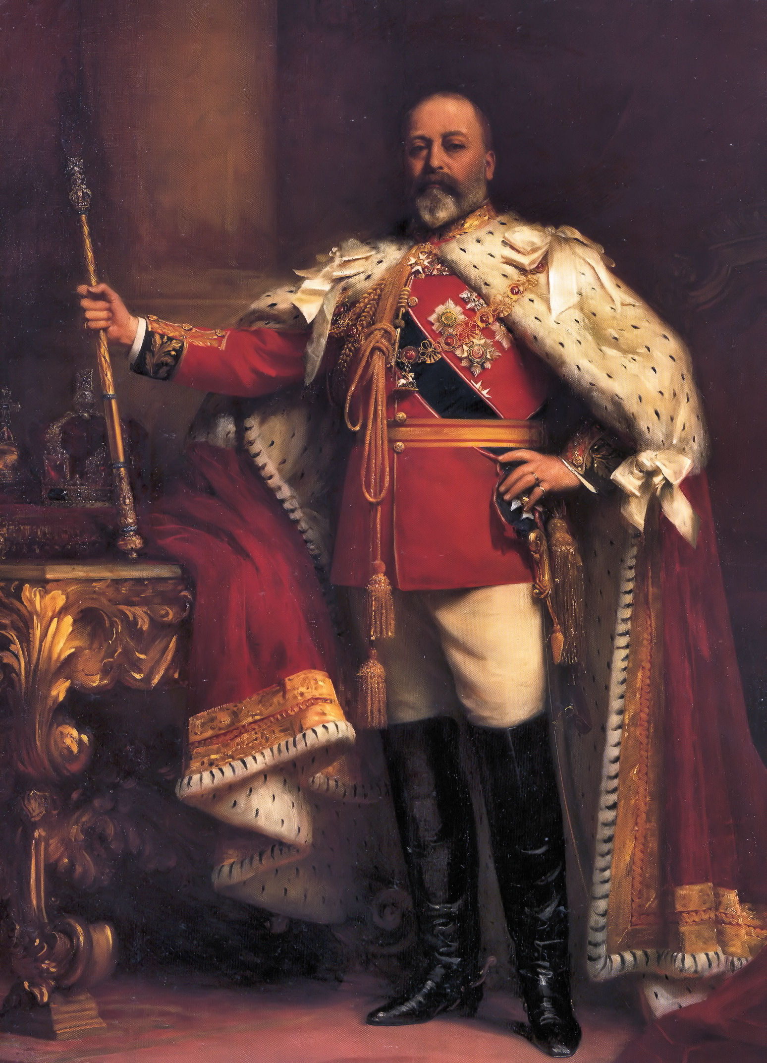 King Edward VII Painting